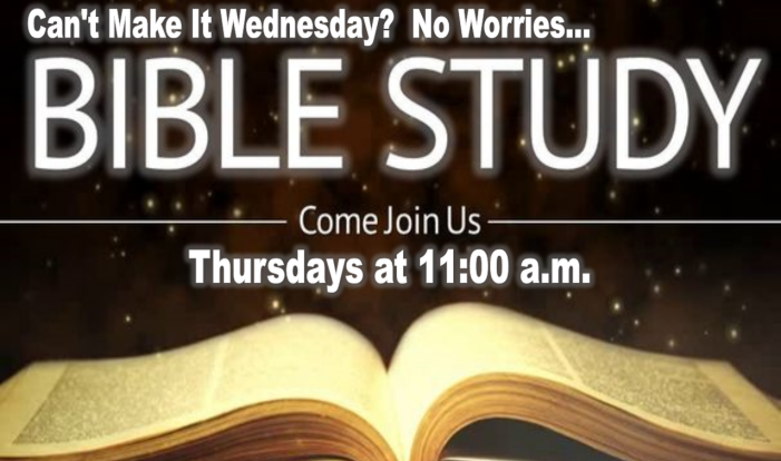 Thursday Bible Study