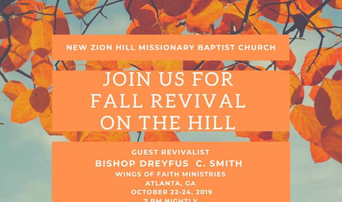 Fall Revival 2019